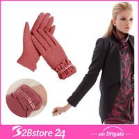 Wholesale 2014 New Women Korean Gloves Wool Gloves Winter Gloves Goat Hair Gloves