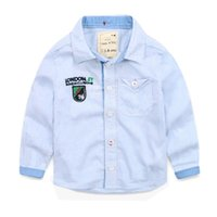baby flannel shirt - Popular Striped Flannel Baby Kid Children Shirts Long Sleeve Shirts iso A4