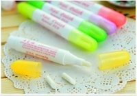 Wholesale New Nail tools Nail supplies nail pen correction pen to remove nail polish nail polish pen attached three essential tip five color