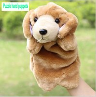 al por mayor grandes manos muñeca-El juguete de peluche de los nuevos niños Peluche de juguete de marionetas de mano de juguete Dálmatas paternidad educación temprana de niños muñecos de dedo