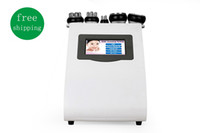 Wholesale 5in1 dissolved slimming Ultrasonic Liposuction cellulite reduction K Cavitation multipolar rf vacuum Slimming Machine Face Skin Lifting