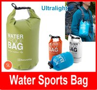 Wholesale 5L Outdoor Waterproof Mesh Cloth Bags Dry Storage For Canoe Kayak Rafting Camping Beach Swimming High quality
