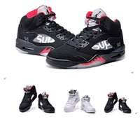 children fabric - Nike dan Retro Children Grape Bel Air Fire Red LAB5 Cement kids Basketball Shoes Brand New AJ5 retro IV Sneakers J5s EUR28