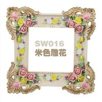 art with frame - European Style Resin Switch Cover Wall Stickers Retro Decorative Frame Home Decoration Fit cm Standard Switch With Lacework