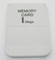 Nuevo blanco 1MB 1 MB tarjeta de memoria de ahorro para Sony Performance para Playstation PS1 PSX sistema de juego al por mayor