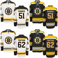 authentic kids ryan - 2016 Youth Ryan Spooner Zach Trotman Jersey Boston Bruins Premier Home Stitched Kids Bruins Hockey Jerseys Authentic S XL