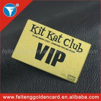 Wholesale Photo plated latest hottest fashion vip card with