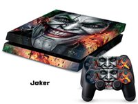 ps4 console - JOKER COOL197 DECAL SKIN PROTECTIVE STICKER for SONY PS4 CONSOLE CONTROLLER