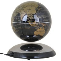 ball room shoes - Fascinations Levitation Ion quot Magnetic Rotating Globe Floating Earth Gold Magnetic Levitation English Version World Map ball