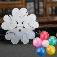 balloon clips - Balloon Seal Clip Multi Balloon Sticks Balloon Accessories Plum Flower Clip Practical Convenient Balloon Sealing Clamp