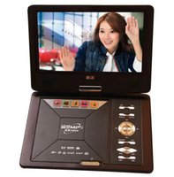 portable dvd player tv - 7 inch portable DVD player with USB port TV tuner card reader mini portable dvd player portable TV degree rotatable TFT LCD