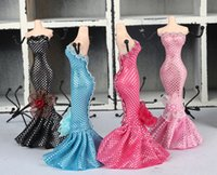 Wholesale Mannequin Jewelry Rack Earrings Necklace Organizer Holder Elegant Lady Great Gift Manikin Casting Fashion Jewellery Display Stand