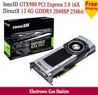 Wholesale Inno3D GTX980 NVIDIA GTX GB GDDR5 bit DirectX DisplayPort SP HDMI DVI Desktop Graphics Card
