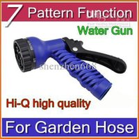 Wholesale trDHL Best Selling Water Gun Water Spray Nozzle Sprayers and Nozzles for Expandable Garden Hose Pattern Function HBA B