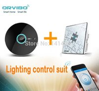 automation lighting system - Orvibo Smart home automation system Lighting control Suit AllOne remote controller and one loop switch group