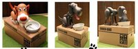 Wholesale Electronic Dog coin piggy bank Dog saving money box coin bank eat money dog kids gift DHL