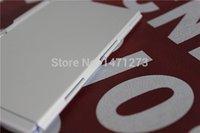 aluminum notepad - New Multicolour aluminum alloy with pen notepad notebook tsmip aluminum stationery gift