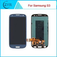 LCD Screen Panels galaxy s3 digitizer - For Samsung Galaxy S3 i9300 LCD Screen with Touch Screen Digitizer Assembly