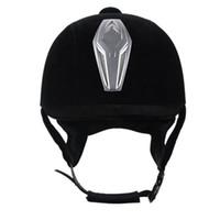 horse harness - cm professional senior equestrian helmet suede hat horse riding helmet harness