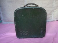 Wholesale Loaded with vinyl or bakelite record with the Olympic logo of the old cassette old suitcase detail there