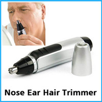 Wholesale 1 Hot Electric Nose Ear Face Hair Removal Trimmer Shaver Clipper Cleaner Remover For Nose Trimer