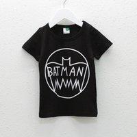 Wholesale New Summer Boys cotton cartoon printed T shirt Round neck short sleeve T shirt Children s clothes
