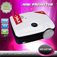 Wholesale Mini LED Projector LCD Game Portable Video Pico PH25 Micro LCD Handy LED Mini Projector lumens Projector