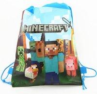 cute drawstring bag - NEW chrismas decoration Stylish Holographic Creeper Backpack Drawstring Bag Printing Mochila Cute Storage sac a dos Fanny Back Pack