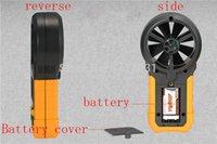 air velocity flow sensors - NEW High quality Digital anemometer air speed air wind velocity air flow meter anemometer wind speed sensor