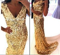 Cheap prom dress Best gold prom dress