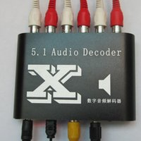 ac theater - New DTS AC Home Theater channel audio decoder Gear DTS AC3 Digital Audio converter Dolby analog stereo R L to or