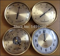 Wholesale mechanical Aneroid barometer thermometer hygrometer wall clock Set diameter weather station home decoration