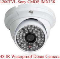 Cheap Best Hd Cctv 1200tvl Sony Cmos Imx138 Sensor 48 Ir Outdoor Security Dome Camera With Ir Cut Osd Control Under High Quality Technology