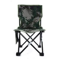 bench beach - 2015 FAshion Outdoor folding beach chair fishing chair portable bench seat foldabke New Camouflage Kursi Memancing