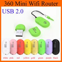 Cheap Newest Portable 360 Wifi 2 Mini Wireless Router Access Point Wireless Bridge 360 Portable WiFi Adapter Luxury With Retail Package OTH115