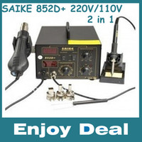 Wholesale SAIKE D Iron Solder Soldering Hot Air Gun in Rework Station V V SAIKE D WIth free gifts