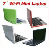 android laptop os - DHL Dual Core quot LCD Android OS WiFi GB Netbook Notebook mini Laptop Ghz MB ram XB07
