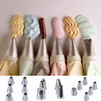 Wholesale 50PCS Stainless Steel Icing Piping Nozzles Pastry Tips Set For Cake Decorating Sugarcraft Tool ZYU