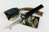 microtech - MICROTECH HALO V ELMAX models optional handle Hunting Folding Pocket Knife Survival Knife Xmas gift for men dropshipping