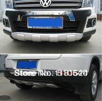 Wholesale 2010 Volkswagen Tiguan High quality plastic ABS Chrome Front Rear bumper cover trim