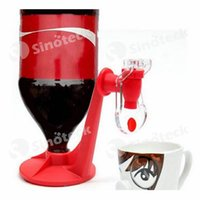 mini water dispenser - Fizz Saver Mini Upside Down Drinking Fountains Cola Beverage Switch Drinkers Hand Pressure Water Dispenser Automatic Free DHL UPS Factory