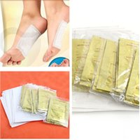 Wholesale 2015 New GOLD Premium Kinoki Detox Foot Pads Organic Herbal Cleansing Patches M01024 M01024
