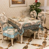 Wholesale The new three South Croatia upscale C dining table decorated tablecloth cover towel towel cloth tablecloths