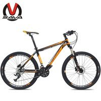 Wholesale SAVA Speed Inch Mountain Bike M1 Aluminum Alloy MTB Bicycle Bicicleta SHIMANO Parts Double Disc Brake Colors