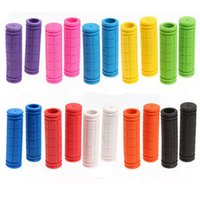 Wholesale Bicycle Bike MTB Grips Fixie Lock on Fixed Gear Grips Rubber Handlebar Grips Brand New Good Quality