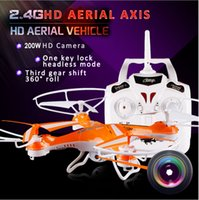attop helicopter - Attop CH GHz RC Helicopter w Axis Gyro D Tumble Locking Route Mode MP Camera Quadcopter
