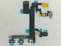 apple power connector - On Off Flex Power Mute Volume Button Switch Connector Flex Cable Ribbon iphone S