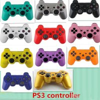 Wholesale Wireless Bluetooth Game Controller Gamepad for PlayStation PS3 Game Controller Joystick for Android video games colors availiable