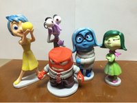 Wholesale Inside Out Toys PVC Action Figures Doll Pixar Movie Anger Joy Fear Disgust And Sadness