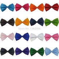 Wholesale 1pcs Multicolor Dog neck tie Dog bow tie Cat tie Pet grooming Supplies Pet headdress Bowtie ncektie